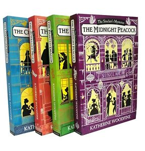 Sinclair-039-s-Mysteries-Series-Katherine-Woodfine-4-Books-Collection-Set-Dragon-NEW