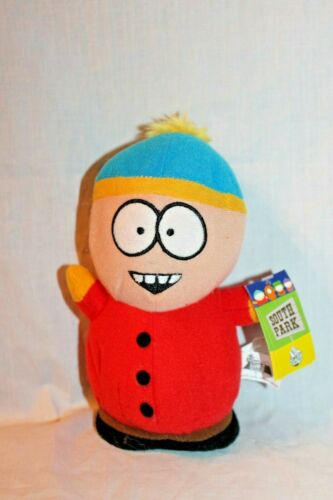 """NEW WITH TAG SOUTH PARK COMEDY CENTRAL CARTMAN   7/"""" PLUSH 2008"""