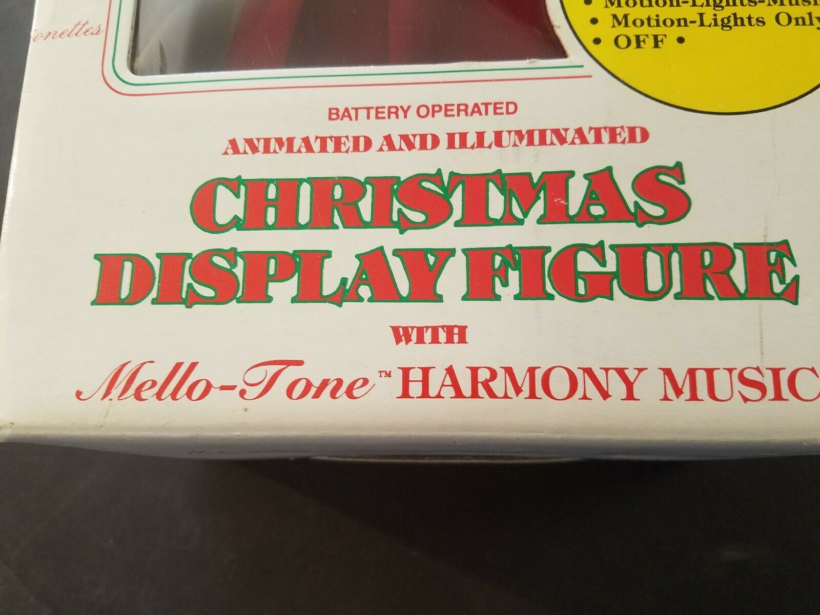 TESTED GOOD Telco Motionette Christmas Christmas Christmas Musical Ms. Claus 1990 17  Tall IN BOX 8abe26