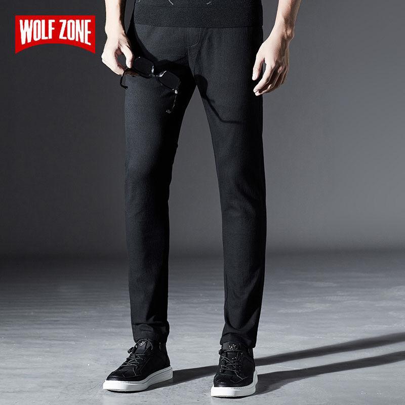 Fashion New Autumn Winter Cotton Pants Men Slim Fit Mens Sweatpants Brand