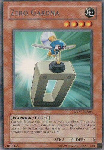 U Zero Gardna SOVR-EN006 Rare Yu-Gi-Oh Card English New