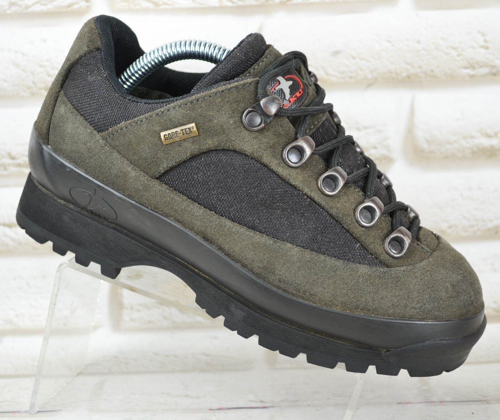 AKU GTX Damenschuhe Leder Outdoor Niedrig Walking Waterproof Stiefel Waterproof Walking Größe 3.5 UK 36 EU 284f53