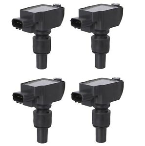 Set of 4 Spectra Premium Direct Ignition Coils for Mazda RX-8 1.3L R2 2004-2011
