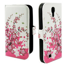 PU Leather Card Slot Wallet Case Cover Stand For Samsung Galaxy S4 S IV i9500