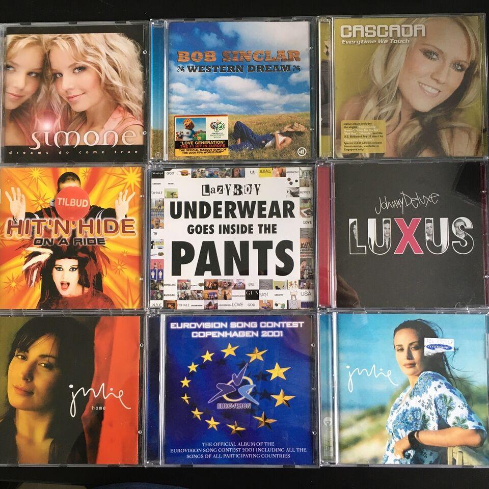 Forskellige kunstnere: Forskellige titler, pop