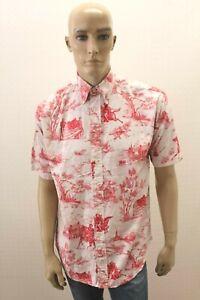 Camicia-TOMMY-HILFIGER-Uomo-Chemise-Shirt-Man-Taglia-Size-M