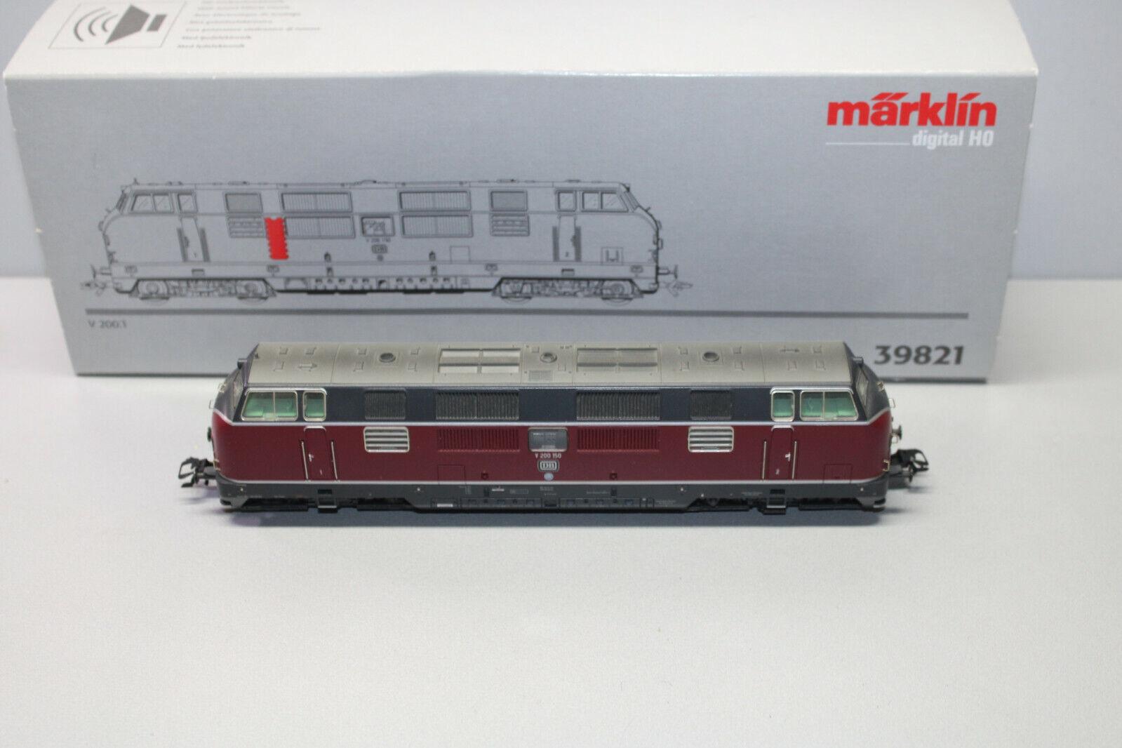marklin 39821 digitale diesel serie v200 150 dB suono h0 OVP
