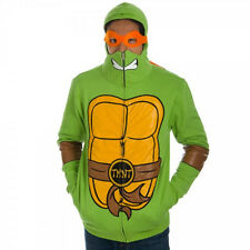 M -TEENAGE MUTANT NINJA TURTLE Mens ADULT COSTUME w/ Masks ~ HALLOWEEN ~ Funny