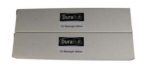 2 DuraBulb® 9W 4-Pin UV Blacklight Bulbs Fake Note Detector Tubes Safescan 50 70