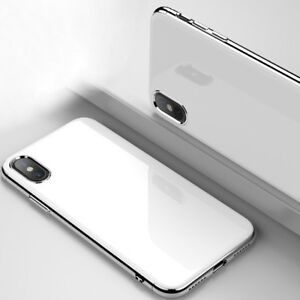 For-iPhone-X-10-7-8-CHROME-Hybrid-360-New-Shockproof-Case-Tempered-GLASS-Cover