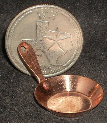 Copper Soup Ladle 1:12 Dollhouse Miniature Mexican Import Kitchen #MC707
