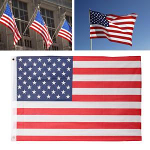 fe517ff853fd 2 x3  FT USA US U.S. American Flag Polyester Nylon Stars Stripes ...