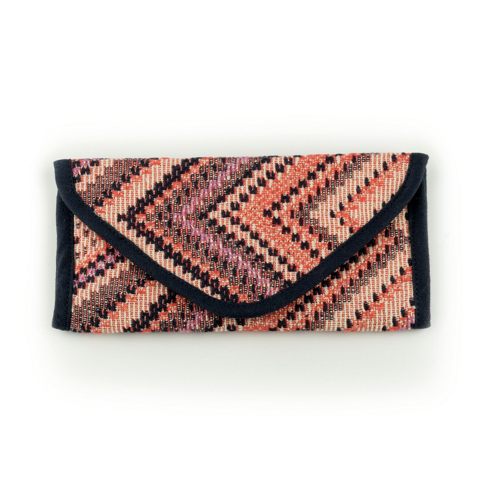 Dreaming Waves Wallet / Purse / Money Wallet- Pink Navy