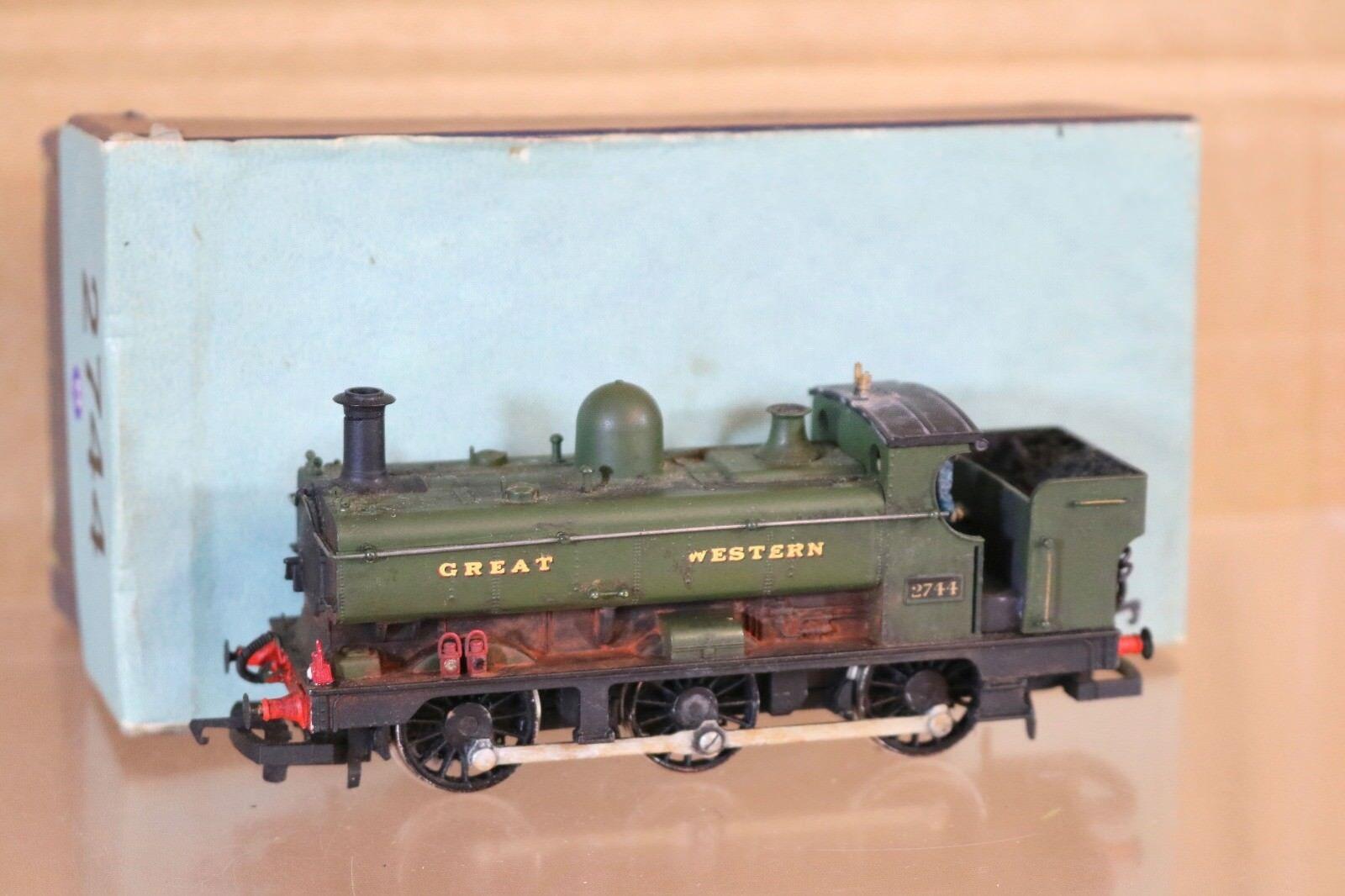 Hornby Kit Construit Usé GW Gwr 0-6-0 Classe 27XX Panier Réservoir Locomotive