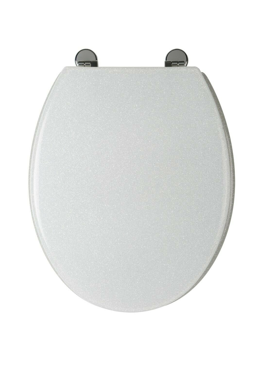 Fantastic Croydex Wl101022 Toilet Seat White Glitter Gmtry Best Dining Table And Chair Ideas Images Gmtryco
