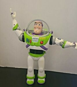 Toy Story Buzz LightYear 12 Inch Talking Action Figure Disney Store Pixar Hinged
