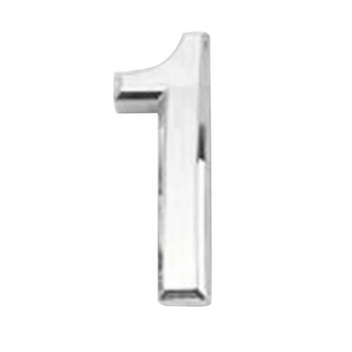 Plastic Self-Adhesive House Hotel Door Number Sticky 3D Numeric Digital Plaque