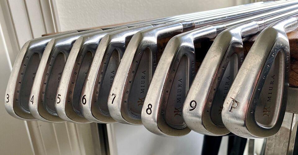Herre golfsæt, stål, Miura
