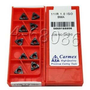 10pc 16ER 10ACME SMX35 Carbide Threading Inserts Universal type Cutting tool CNC