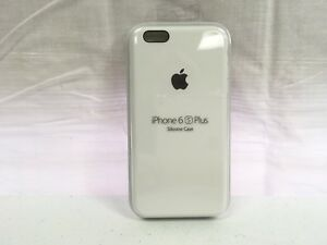 Image is loading Apple-iPhone-Silicone-Case-6s-Plus-white-MKXK2ZM- 7826afd5677