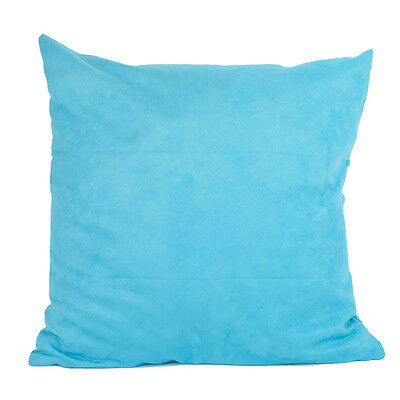 50x50CM SuedeNap 16 Pure Color Cushion Cover Home Decor Sofa Throw Pillow Case