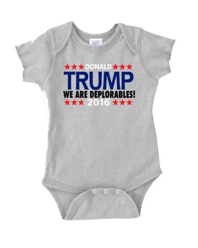 "Donald Trump /""We Are Deplorables/"" 2016  T-shirt jersey S-5XL"