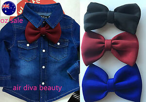 1PC-Baby-Boys-Kids-Children-Party-School-BIG-bow-tie-Necktie-bowtie-Pin-PROP