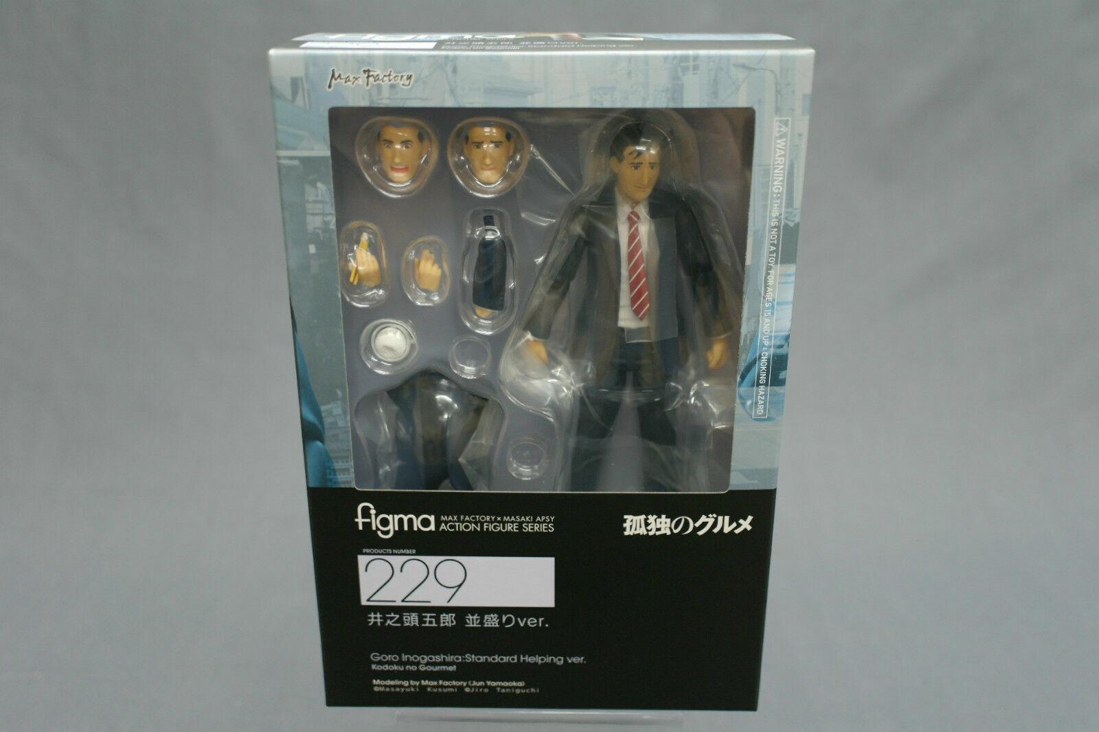 Goro Inogashira Figma Good Smile Kodouku No Gourmet Action Figure Standard Helping Version