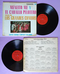 LP-33-Giri-CORTIJO-Y-CHEMIN-Exitos-De-Los-Grandes-Combos-Vinile-Vinyl-no-cd-mc