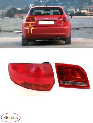 BRAND NEW REAR TAIL LIGHT LAMP OUTER LEFT N//S 5DOOR AUDI A3 2003-2008