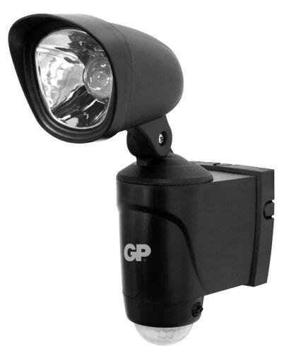 Außen-Sensor-Licht 4500 Kelvin LED weiß inkl Batterie 130 Lumen kein Kabel