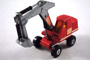Matchbox-SuperKings-K-1-Mobile-O-amp-K-New-Type-Wheels-360-Working-EXCAVATOR