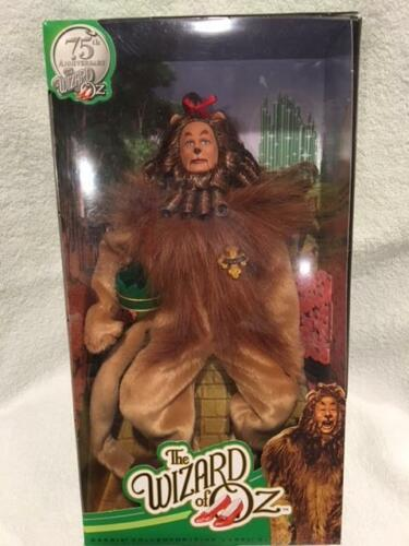Barbie Collector Wizard Of Oz Cowardly Lion 75th Anniversary DollNEW not Mint