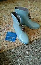 Vivienne Westwood baby blue Melissa wellington shoes 5
