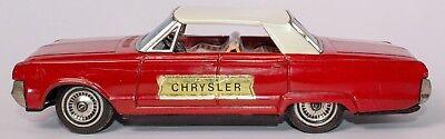 Vintage Selten 597ms Chrysler 4-türer Japanisch Blech Reibung Sedan Mit Den Modernsten GeräTen Und Techniken Spielzeug Blechspielzeug