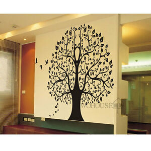 wall stickers home decor vinyl art decals room mural big banyan tree
