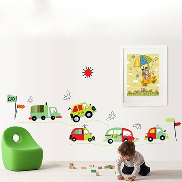DIY Children's Room Wall Stickers Car Decal Wall Stickers