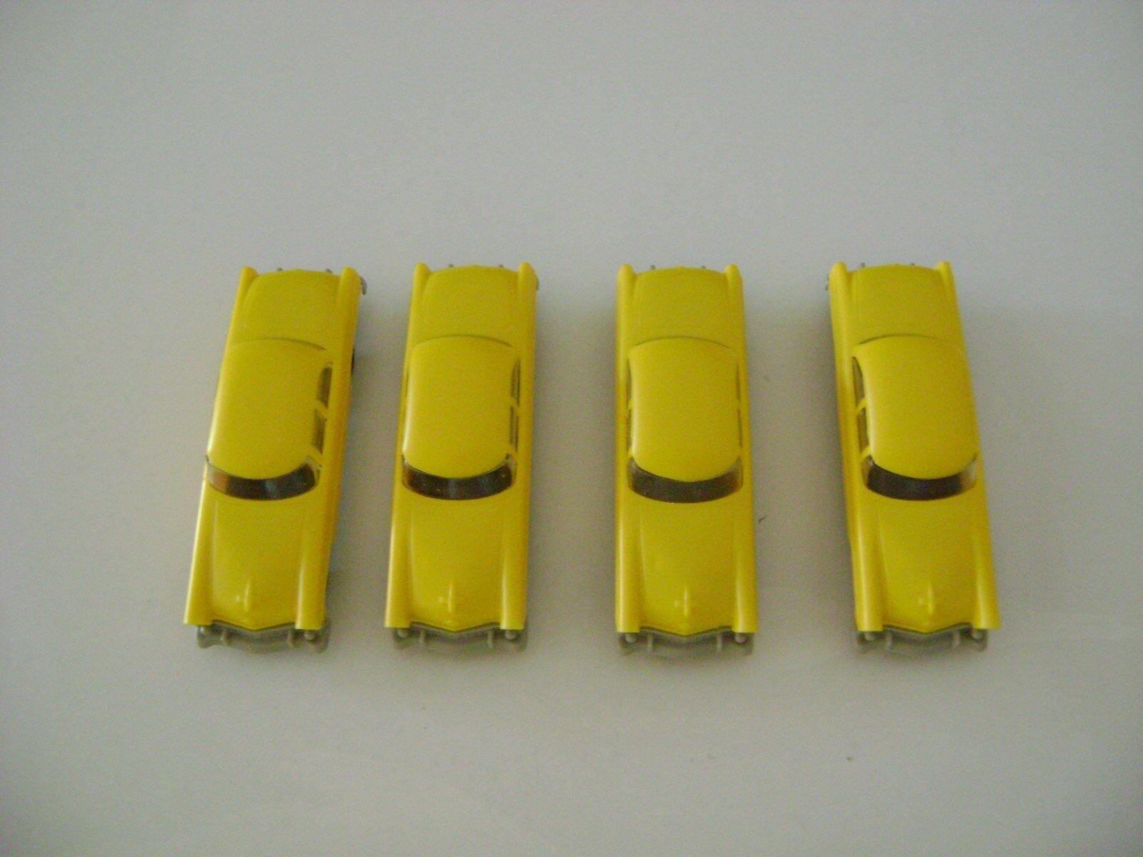 Lionel giallo Autos w/Gris Bumpers