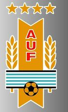 "Uruguay Football Soccer Sticker Car Laptop Decal 5"" x 2.5"""