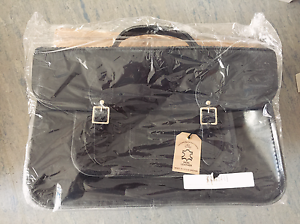 Patent Batchel 16 Marine Company Satchel '' Cambridge Leather nwqR10qX