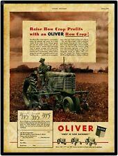 Oliver Farm Tractors New Metal Sign Model Super 55 Diesel Featured