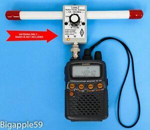 Mini Whip Antenna 10 KHz 30 Mhz VLF LF MF HF for icom R20 AOR 8200 Radios SSB AM