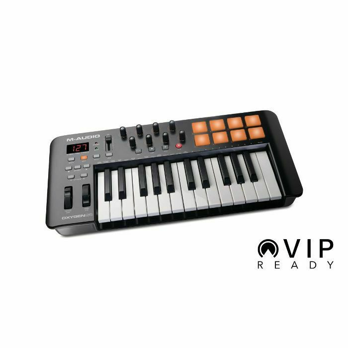 M Audio Oxygen 25 Mk4 USB MIDI Keyboard Controller With Ableton Live Lite & S...