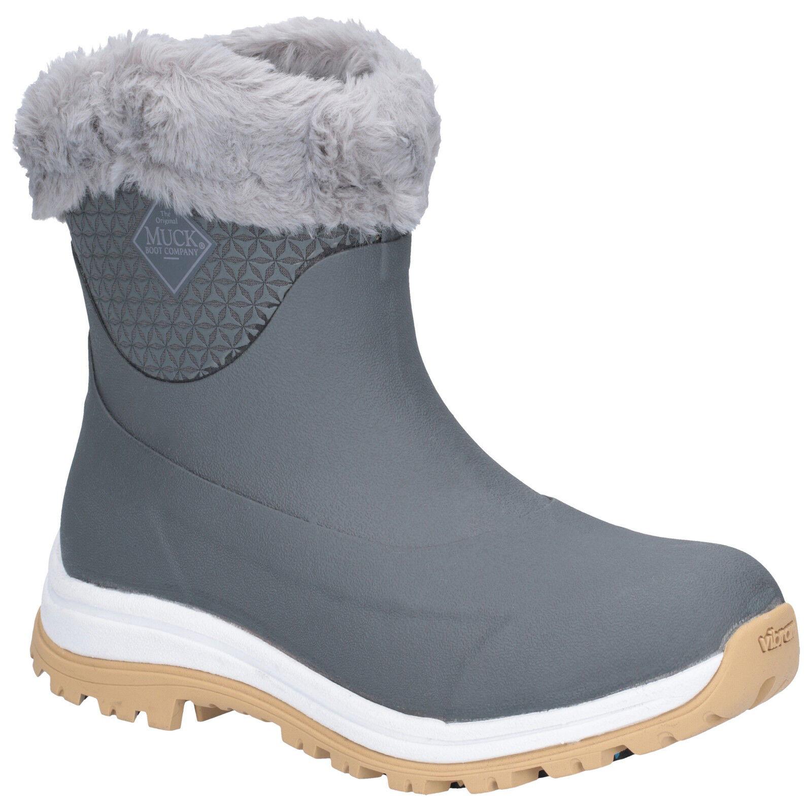 Muck bota-Ártico bota-Ártico bota-Ártico Apres Slip-On AG-gris-rojoucido de  a  mejor calidad mejor precio