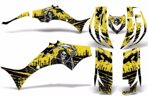 Decal Graphic Kit Yamaha Wolverine 450 ATV Quad YFM450FX Decal Wrap 06-12 REAP Y