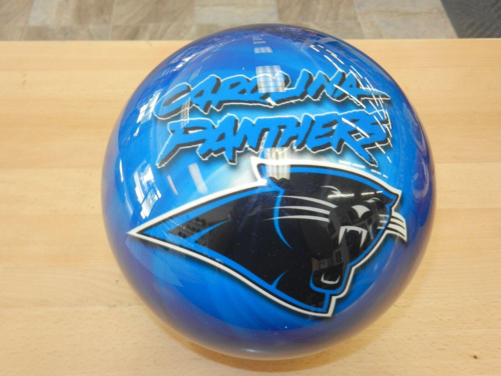 New in Original Box Undrilled 15OTB NFL Carolina Panthers Bowling Ball