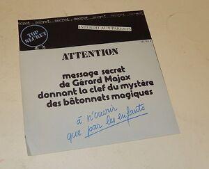 Aimable Document Top Secret : Message Secret De Gérard Majax Bâtonnets Magiques - Magie