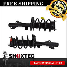 Front Pair Complete Strut Assembly: 04-13 MAZDA 3 (2.0&2.3 Liter) w/ Coil Spring