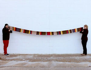 Dr Doctor Who 12' Deluxe Striped Scarf Fourth 4th Costume Tom Baker BBC 365×23