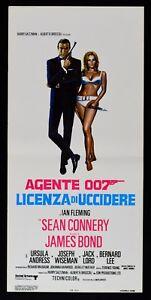 Plakat Lizenz Von zu Töten 007 James Bond Sean Connery Ursula Andress L100